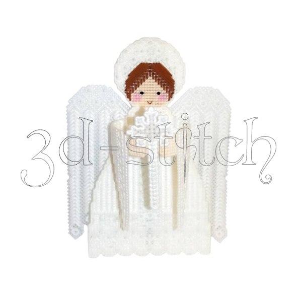 """Набор для вышивания на пластиковой канве Ангел """"Добро"""", арт. АГ005"""