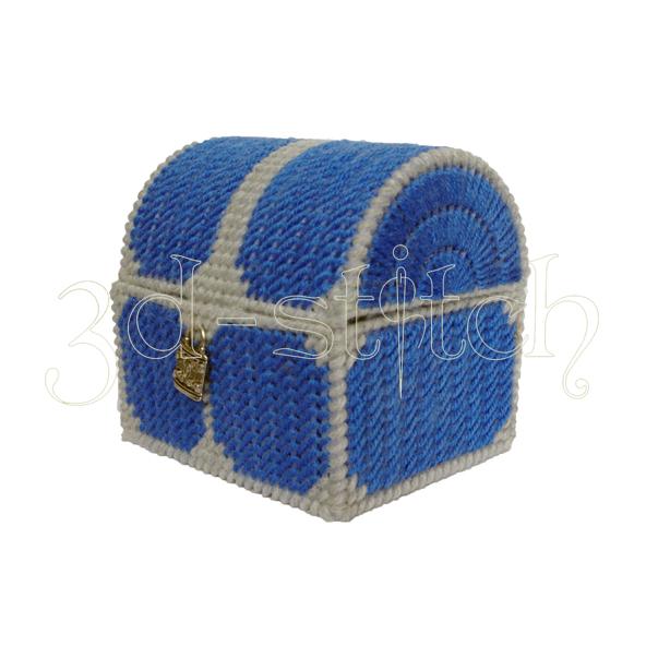 """Набор для вышивания на пластиковой канве Сундучок для мелочей """"Озорник"""", арт. СД002-2"""