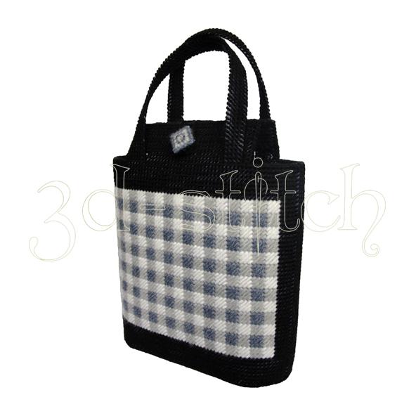 """Набор для вышивания на пластиковой канве Сумка """"Шотландка"""", арт. СМ005-1"""