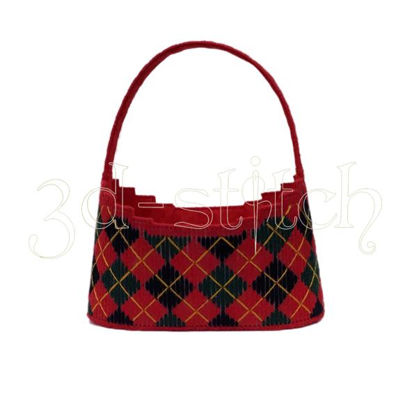 """Набор для вышивания на пластиковой канве Корзинка Шотландская романтика"""", арт. КЗ011"""