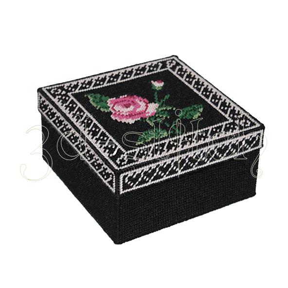 """Набор для вышивания на пластиковой канве Коробка """"Сердце Герды"""", арт. КР020"""