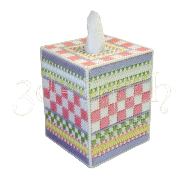 """Набор для вышивания на пластиковой канве Салфетница """"Нежность"""", арт. Н002-2"""