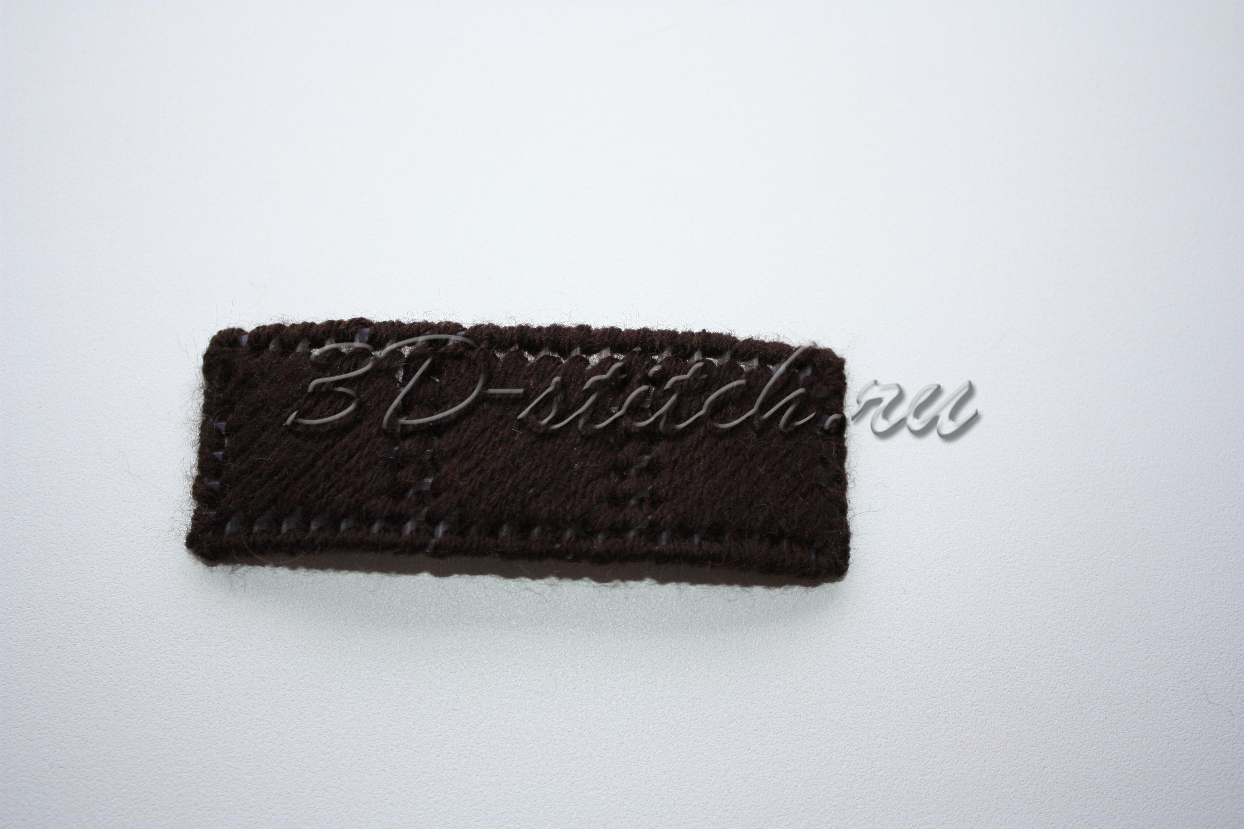 Объемная вышивка - мастер-класс - Вышитая шкатулка - Этап 3 - Готовая деталь бантика