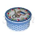 """Набор для вышивания на пластиковой канве Коробка """"Мелочи для рукоделия"""", арт. КР013"""