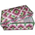 """Набор для вышивания на пластиковой канве Коробка-органайзер """"Венецианская мозаика"""", арт. КР025"""