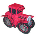 """Набор для вышивания на пластиковой канве Р002 """"Красный родстер"""""""