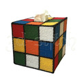 """Набор для вышивания на пластиковой канве Салфетница """"Кубик Рубика"""", арт. С005"""