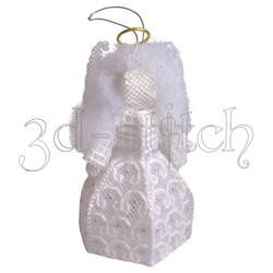 """Набор для вышивания на пластиковой канве АГ003 Ангел """"Счастье"""""""