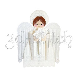 """Набор для вышивания на пластиковой канве АГ005 Ангел """"Добро"""""""