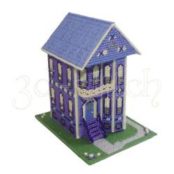 """Набор для вышивания на пластиковой канве Д010 """"Викторианский домик №3"""""""