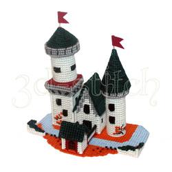 """Набор для вышивания на пластиковой канве  ЗМ002 """"Рыцарский замок"""""""