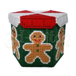 """Набор для вышивания на пластиковой канве """"Пряничный человечек"""", арт. НГ002"""