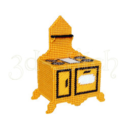 "Набор для вышивания на пластиковой канве Плита  ""Амелия"", арт. Н009-4"