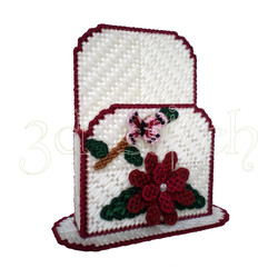 """Набор для вышивания на пластиковой канве Н010-2 Коробка для записок """"Нежный гранат"""""""