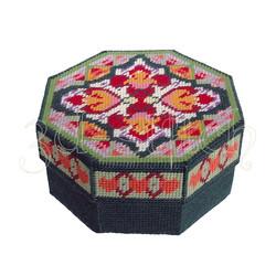 """Набор для вышивания на пластиковой канве Шкатулка """"Гарем"""", арт. Ш012"""