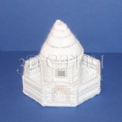 """Набор для вышивания на пластиковой канве НГ015-2 """"Ледовый павильон"""""""