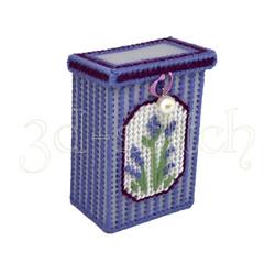 """Набор для вышивания на пластиковой канве Коробочка """"Лаванда"""", арт. КР003"""