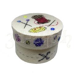 """Набор для вышивания на пластиковой канве Коробка """"Искусница"""", арт. КР015"""