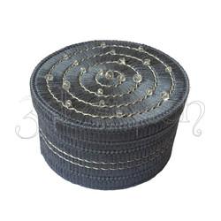 """Набор для вышивания на пластиковой канве Шкатулка """"Серебристый лед"""", арт. Ш001-2"""