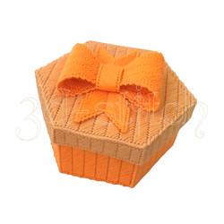 """Набор для вышивания на пластиковой канве """"Шкатулка с бантом"""", арт. Ш002-3"""