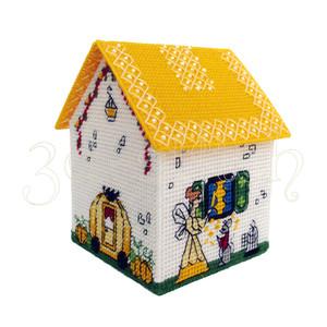 """купить Набор для вышивания на пластиковой канве Д015-3 Сказочный домик """"Золушка"""""""
