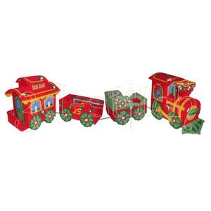 """Набор для вышивания на пластиковой канве  НГ005 """"Рождественский паровозик"""""""