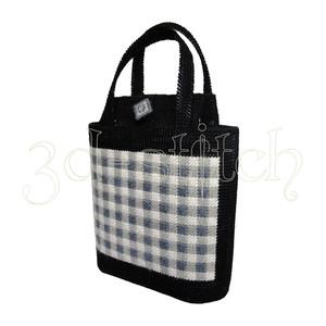"""Набор для вышивания на пластиковой канве СМ005-1 Сумка """"Шотландка"""""""